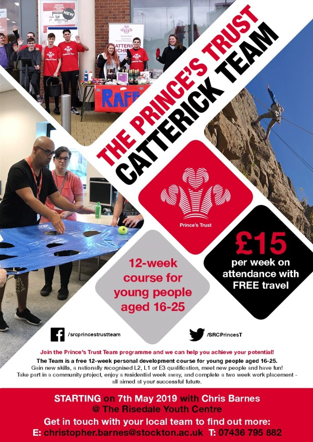 Princes Trust Catterick Team May 19